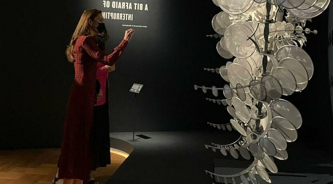 Kate Middleton embraces summer trend in check midi dress for V&A appearance