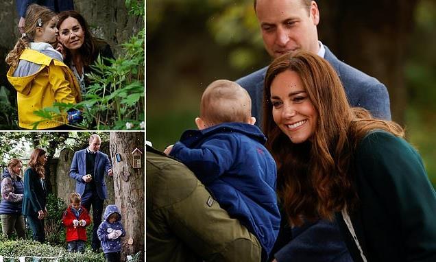 Kate Middleton joins Prince William in Edinburgh