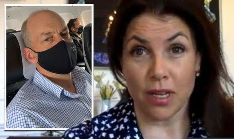 Kirstie Allsopp blasts 'daft rules' on set of Channel 4 show as she reunites with Phil