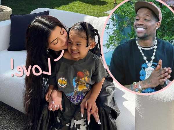 Kylie Jenner & Travis Scott Enjoy Family Trip To Rapper's Houston Hometown With Stormi Webster!