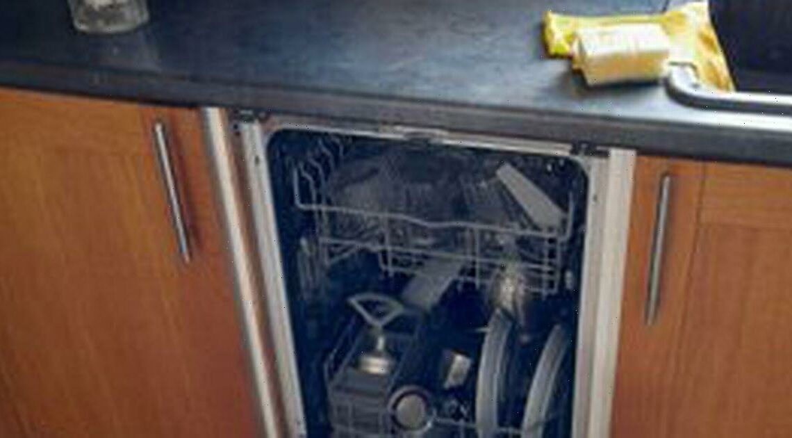 Lad discovers dishwasher after 2 years which he thought was a 'fake cupboard'