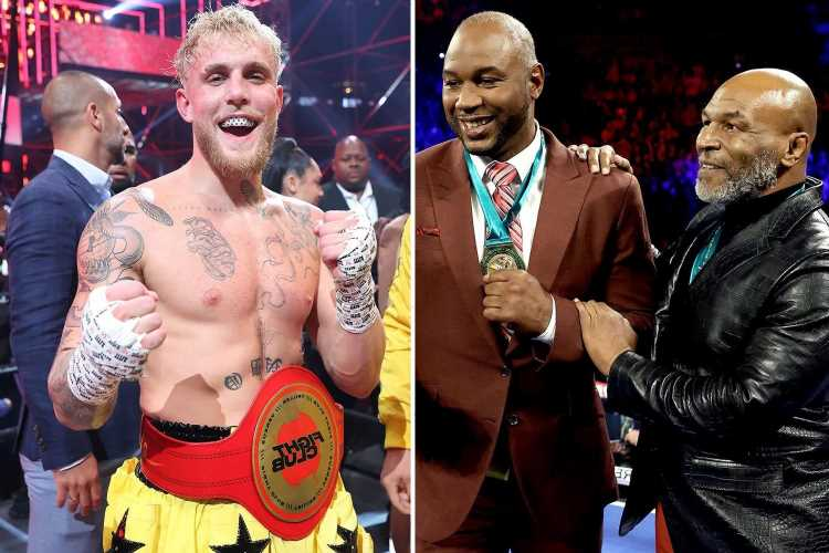Lennox Lewis rips into 'farce' Jake Paul bout – at same time as arranging fight with Mike Tyson at combined age of 109