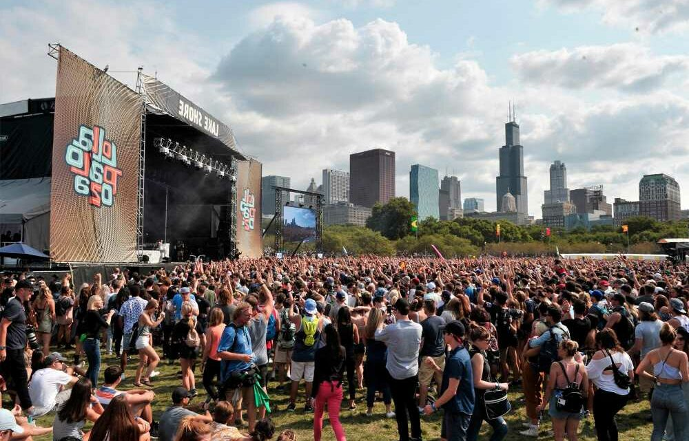 Lollapalooza will be back at full capacity as Chicago's COVID rates decline