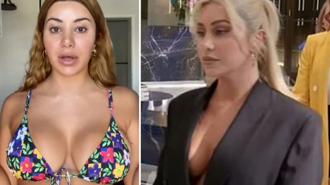 MAFS' Martha Kalifatidis looks completely different with blonde hair on Celebrity Apprentice