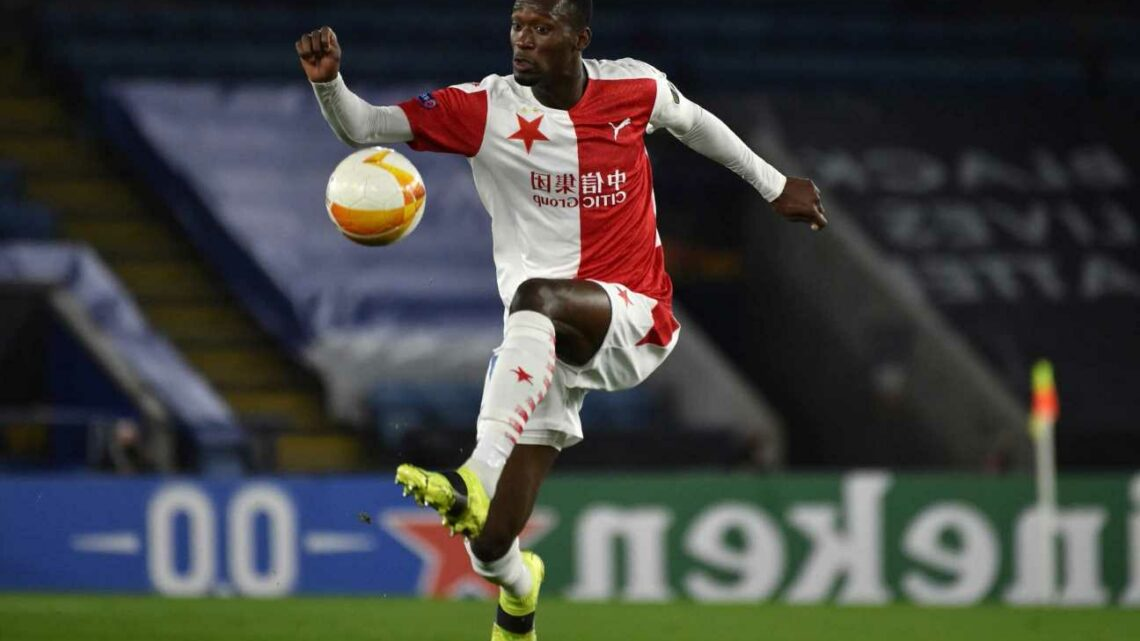 Man Utd and Arsenal joined by West Ham in Abdallah Sima transfer race with striker, 19, impressing at Slavia Prague