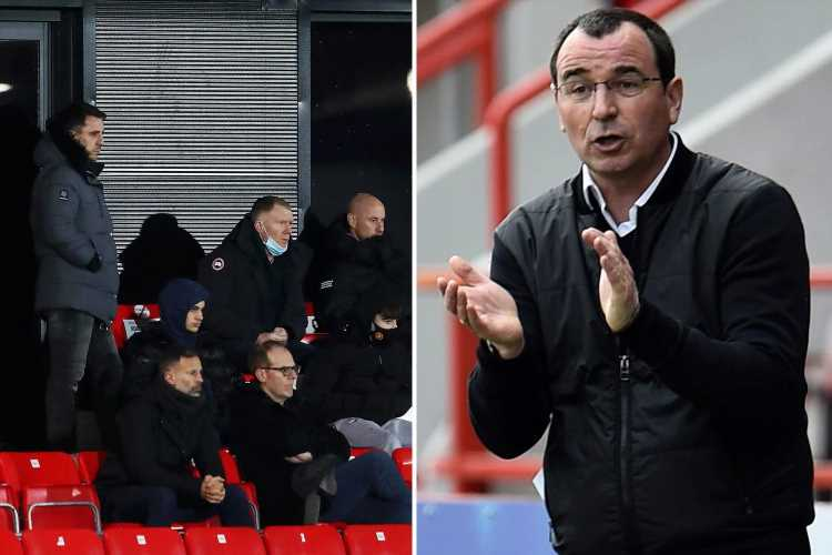 Man Utd legends in Salford manager hunt as Gary Bowyer confirms Derby return after last-gasp survival