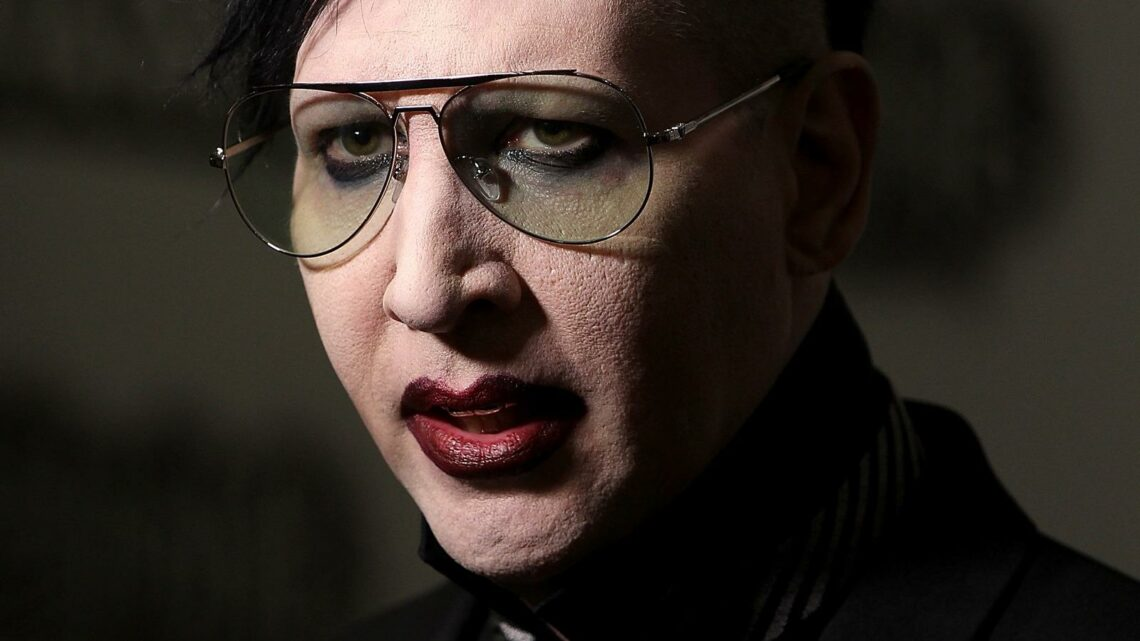 Marilyn Manson Is Wanted By The Police. Here's Why