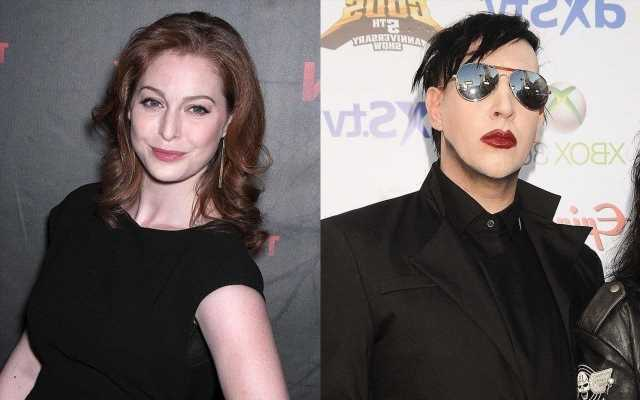 Marilyn Manson Sued by Former Girlfriend Esme Bianco for Abuse