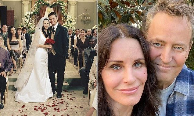 Matthew Perry and Courteney Cox are revealed to be distant COUSINS