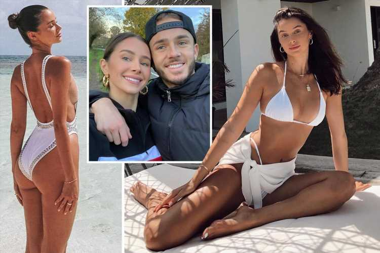 Meet Leicester City star James Maddison's pregnant girlfriend Kennedy Alexa, who is a model and lived in Los Angeles