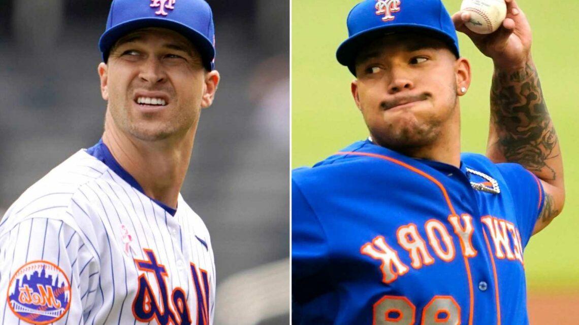 Mets put Taijuan Walker on IL, Jacob deGrom to get rehab start
