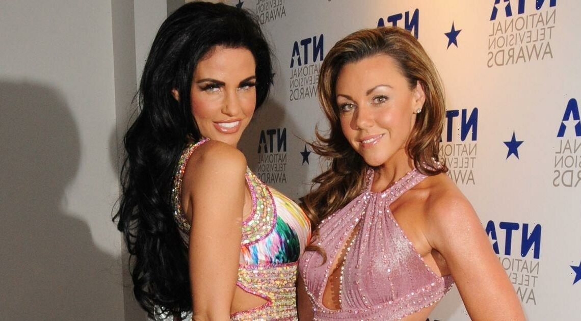 Michelle Heaton says Katie Price 'saved her life' and she was 'days from death'