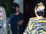 Miley Cyrus, Elon Musk & GF Grimes Spotted Heading To 'SNL' After Party Until 6 A.M. — See Pics