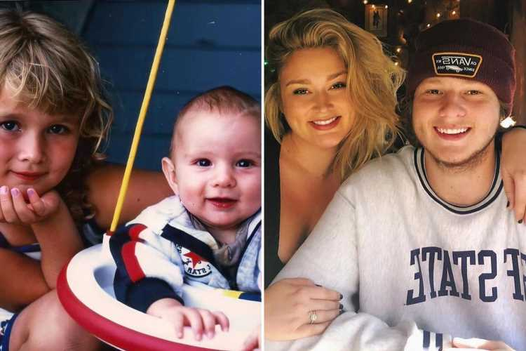 Model Hunter McGrady, 28, reveals her brother has died at the age of 23 as she wonders if she can 'live life again'