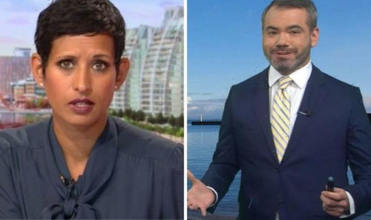 Naga Munchetty stunned as BBC Breakfast weatherman unleashes brutal 'lawn shaming' remark