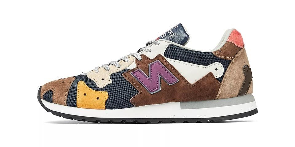 New Balance's New Made in UK R770 Model Gets a Patchy Makeover