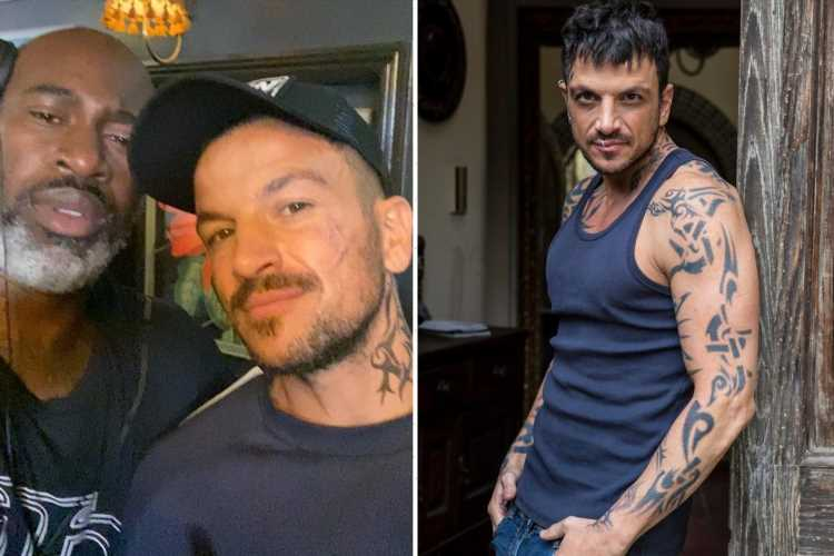 Peter Andre reveals brand new film script and tells fans he's excited for the gritty new flick