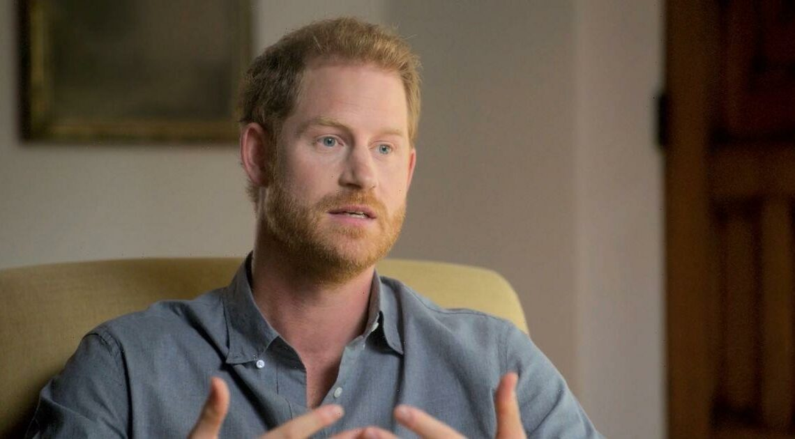 Prince Harry says being 'Yes' man in the Royal Family led to his total 'burnout'