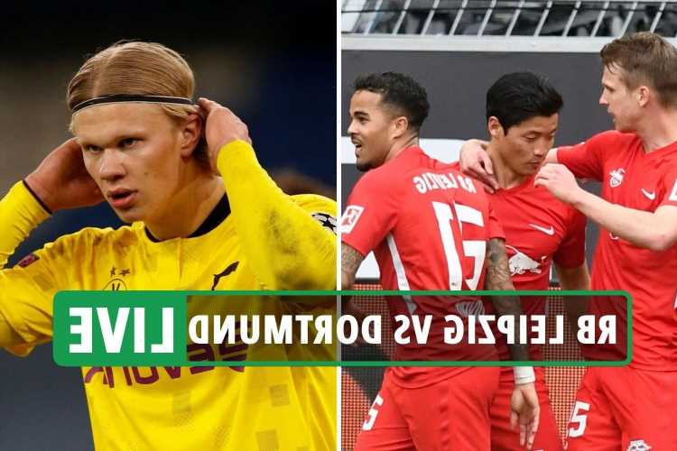 RB Leipzig 1 Dortmund 4 LIVE REACTION: Haaland and Sancho goals win Dortmund German Cup final – latest updates