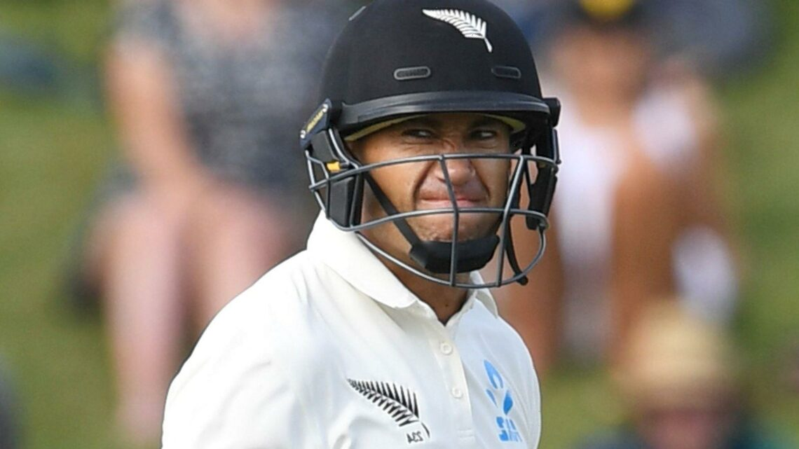Ross Taylor hands New Zealand injury scare on first day of training camp ahead of England Test series