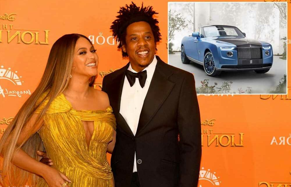 Rumors swirl Beyoncé and Jay-Z commissioned world's most expensive car
