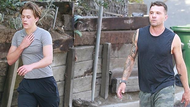 Ryan Philippe's Son Deacon, 17, Is Taller Than Him As They Workout Together In L.A.