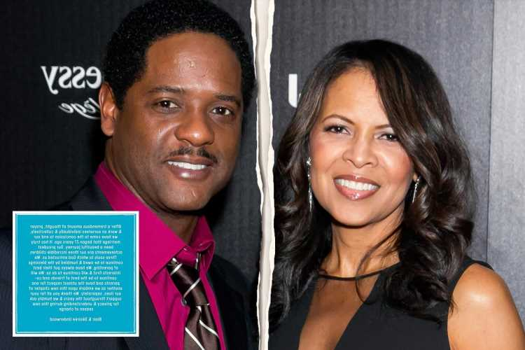 Sex and The City's Blair Underwood & Desiree DaCosta announce they are 'ending their marriage' after 27 years together