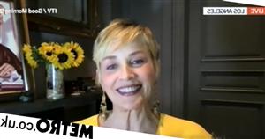 Sharon Stone shuts down Adil Ray's Basic Instinct question
