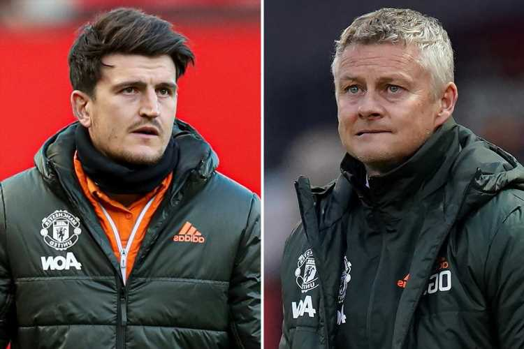 Solskjaer admits it 'doesn't look great' for Maguire in Europa League final race as Man Utd star shares disappointment