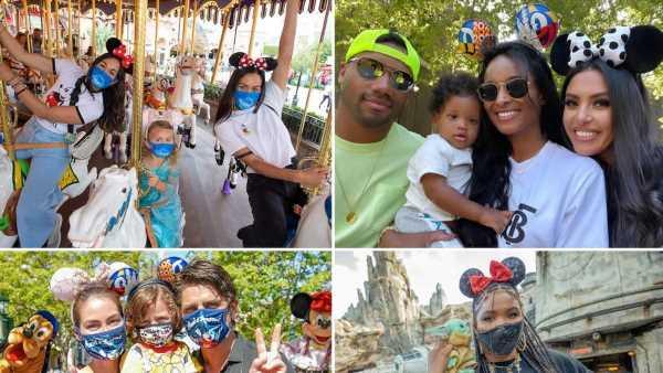 Stars Back At Disneyland — Masked & Magical!