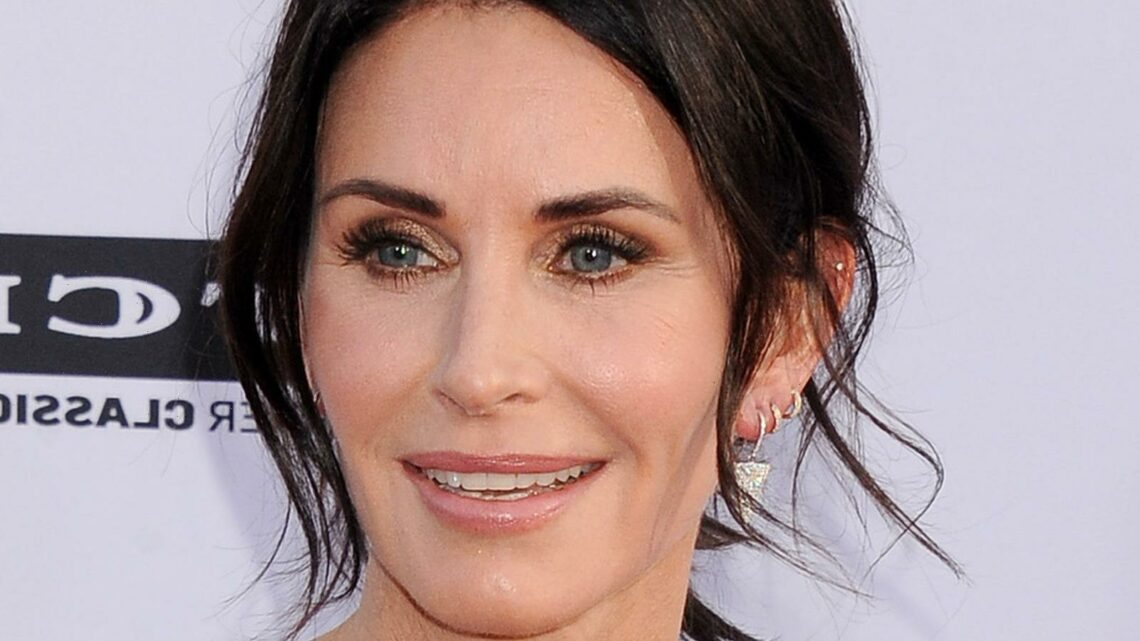 Stars You Never Knew Courteney Cox Dated