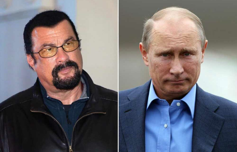 Steven Seagal joins pro-Putin party in Russia