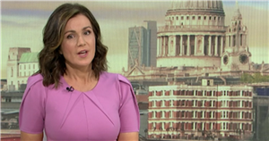 Susanna Reid forced to apologise for Seth Rogen's 'strong language' on GMB