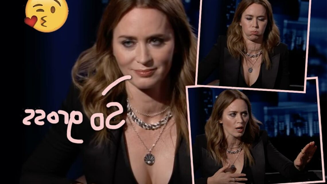 The Story Of Emily Blunt's First Kiss Is The REAL 'Horror Show'