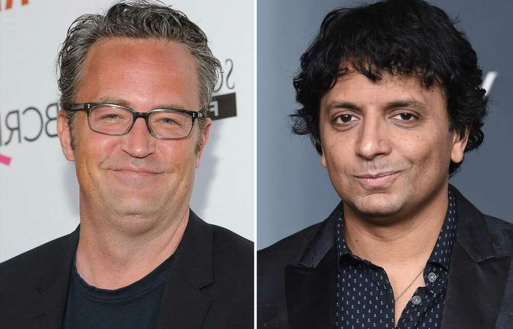 The one where Matthew Perry wasn't sure he partied with M. Night Shyamalan