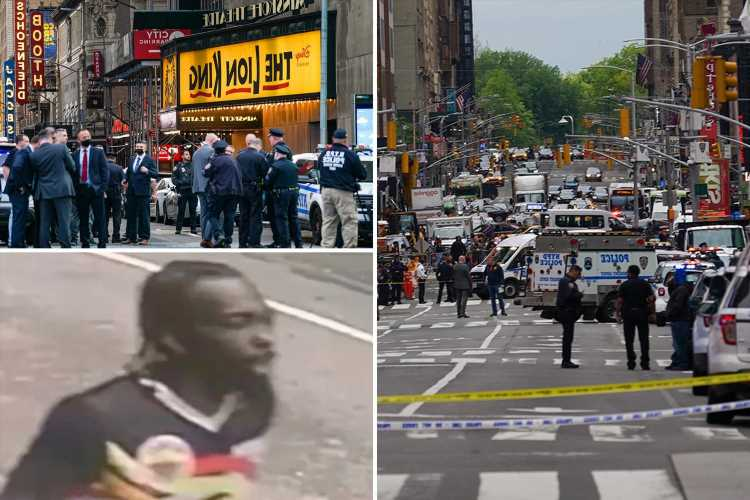 Times Square shooting victim begged for her life after being hit by bullet as Mother's Day trip turned to bloody horror