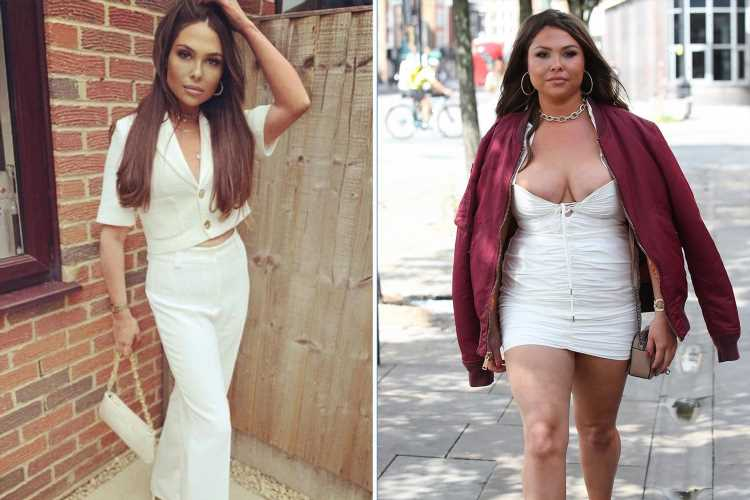 Towie's Fran Parman reveals she's now lost 2 and half stone after being trolled over weight