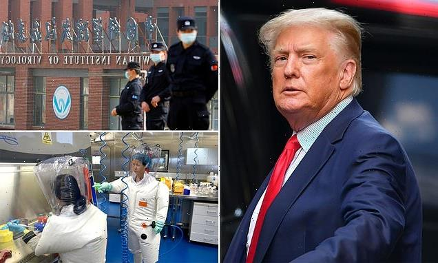 Trump says he is now CERTAIN COVID came from the Wuhan lab