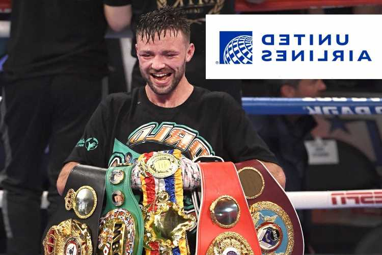 Undisputed super-lightweight champ Josh Taylor says his belts have been LOST and claims they are 'somewhere in Dallas'