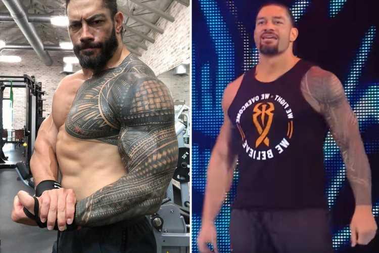 WWE's Roman Reigns' incredible body transformation as he celebrates birthday leaving Dwayne 'The Rock' Johnson 'proud'
