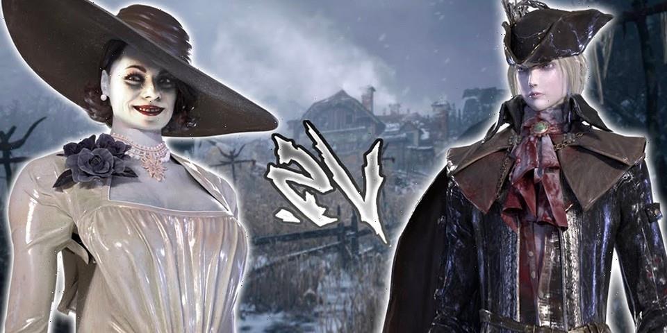 Watch Lady Dimitrescu Fight Bloodborne's Lady Maria In Latest Boss Mod