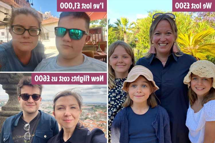 'I've lost £1,000 on my Portugal holiday': Angry Brits face 'nightmare' scramble back to the UK