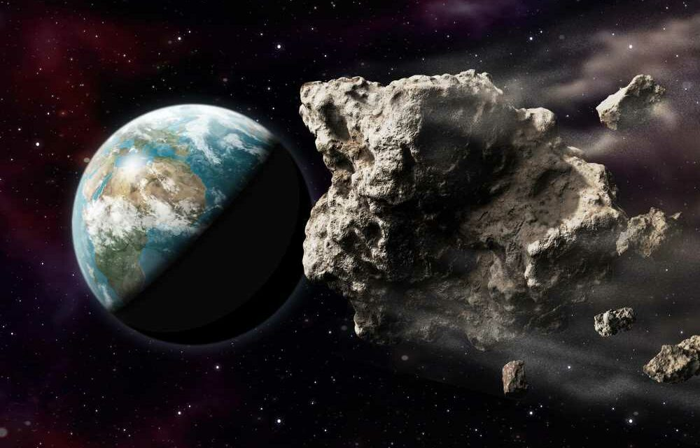 'Potentially hazardous' asteroid among several space rocks to zoom past Earth