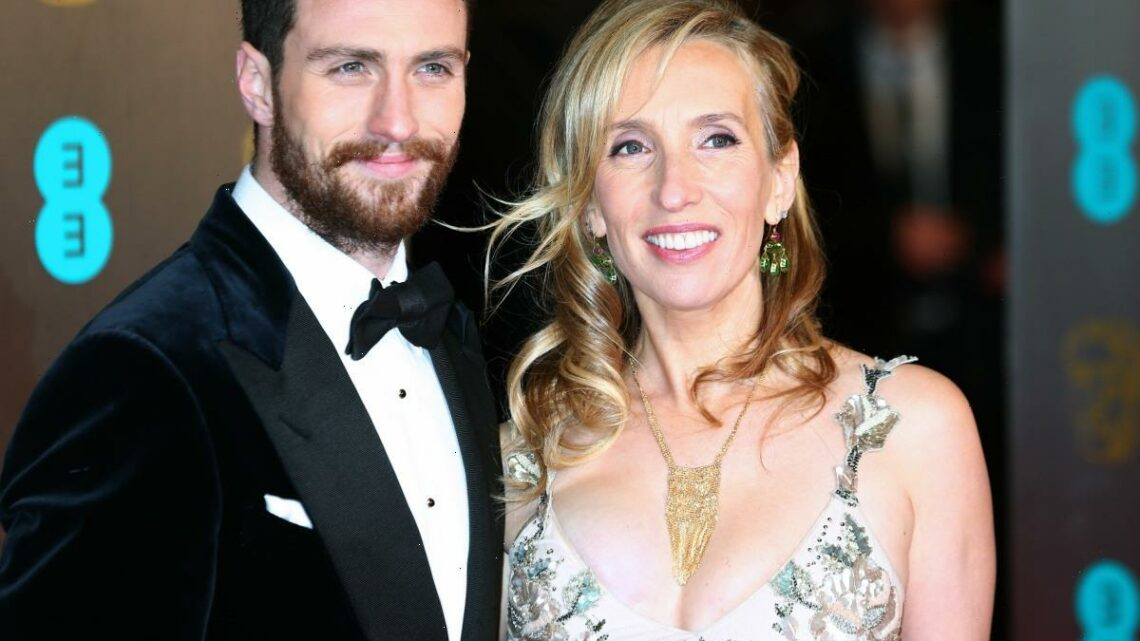 Aaron & Sam Taylor-Johnson got tattoos of each other's names, so they're fine?