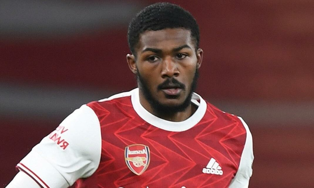 Ainsley Maitland-Niles involved in serious car accident as Arsenal star rolls Mercedes on its side on M25 at 6am