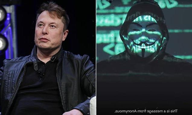 Anonymous' hacking group issue veiled video 'warning' to Elon Musk