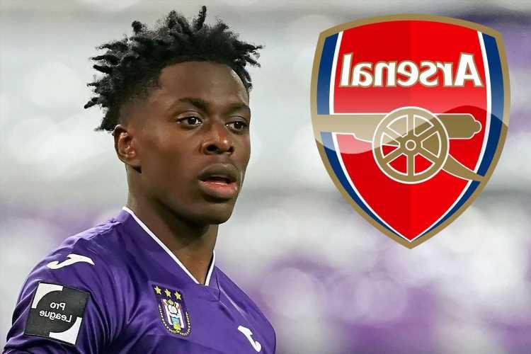 Arsenal launch £18m Albert Sambi Lokonga transfer bid with just agreement over future sale percentage left to thrash out