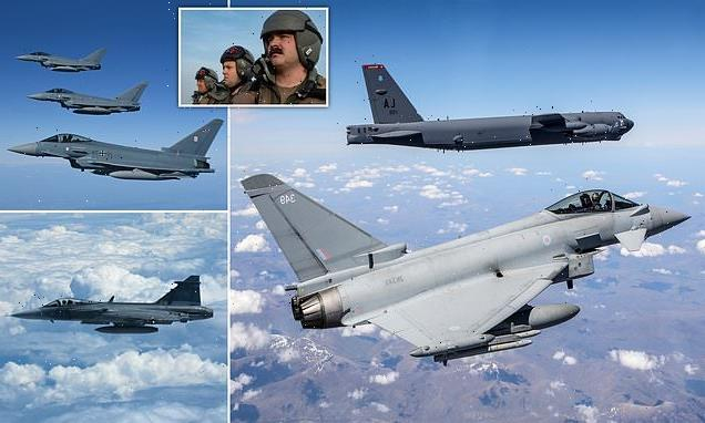 B-52 bombers fly over all 30 NATO states in show of strength