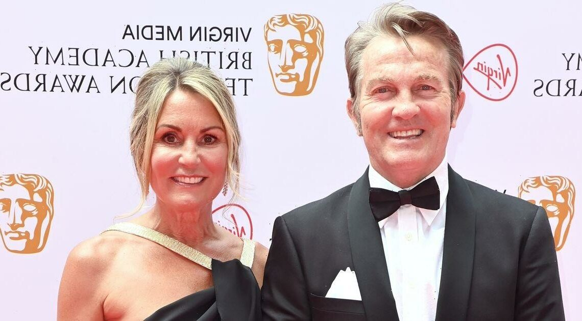 BAFTAs 2021: Bradley Walsh and wife Donna arrive on red carpet ahead of nomination