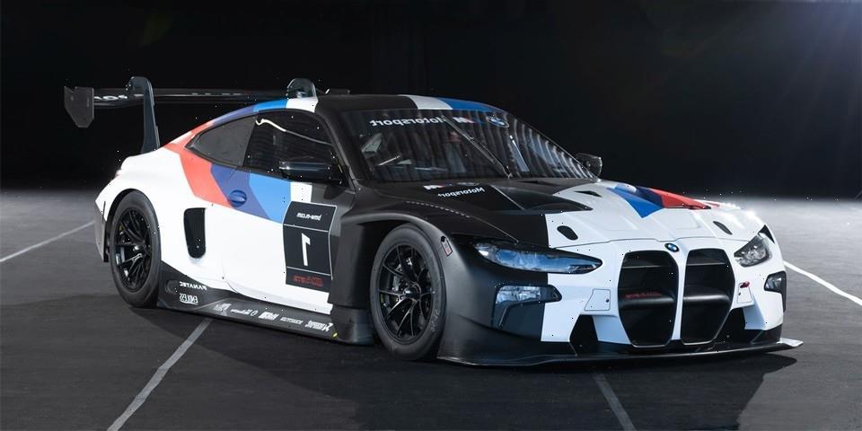 BMW Unveils Its Race-Ready M4 GT3